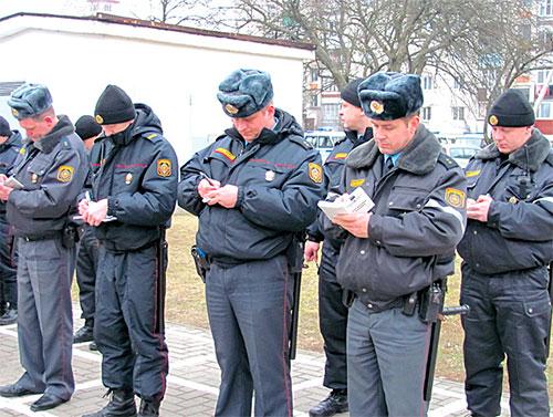 Как проходят будни брестских омоновцев и патрульных